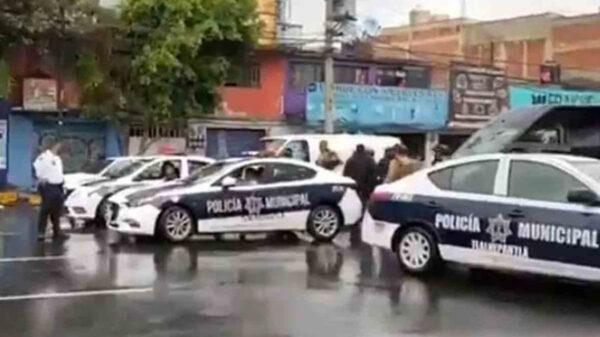 Balacera entre ministeriales y municipales deja 5 heridos