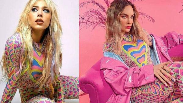 Esposo de Alaksa posa con el mismo look de Belinda y Danna Paola