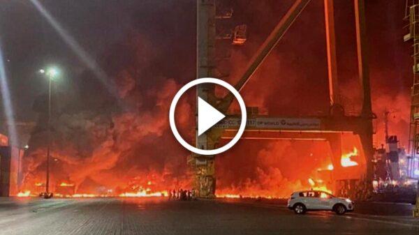 Se registra terrible explosión en Dubai; genera temblores en edificios (Video)