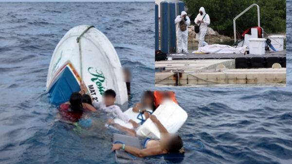 Investigarán por homicidio a responsables de lancha naufragada en Isla Mujeres