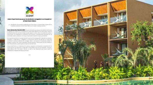 Desmiente Grupo Xcaret contagios de covid-19 en su hotel