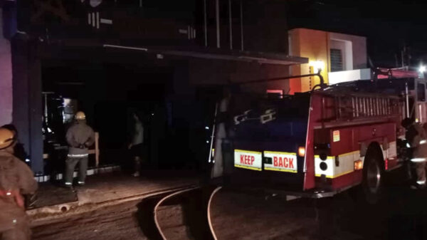 Incendio consume gimnasio en Chetumal
