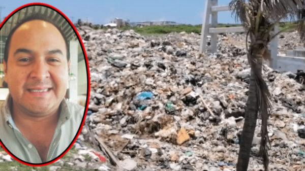 Juan Carrillo heredará cientos de toneladas de basura a Atenea Gómez.