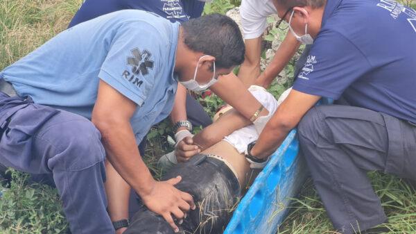 Cancún: Abandonan a hombre con fractura de cráneo en la SM 93