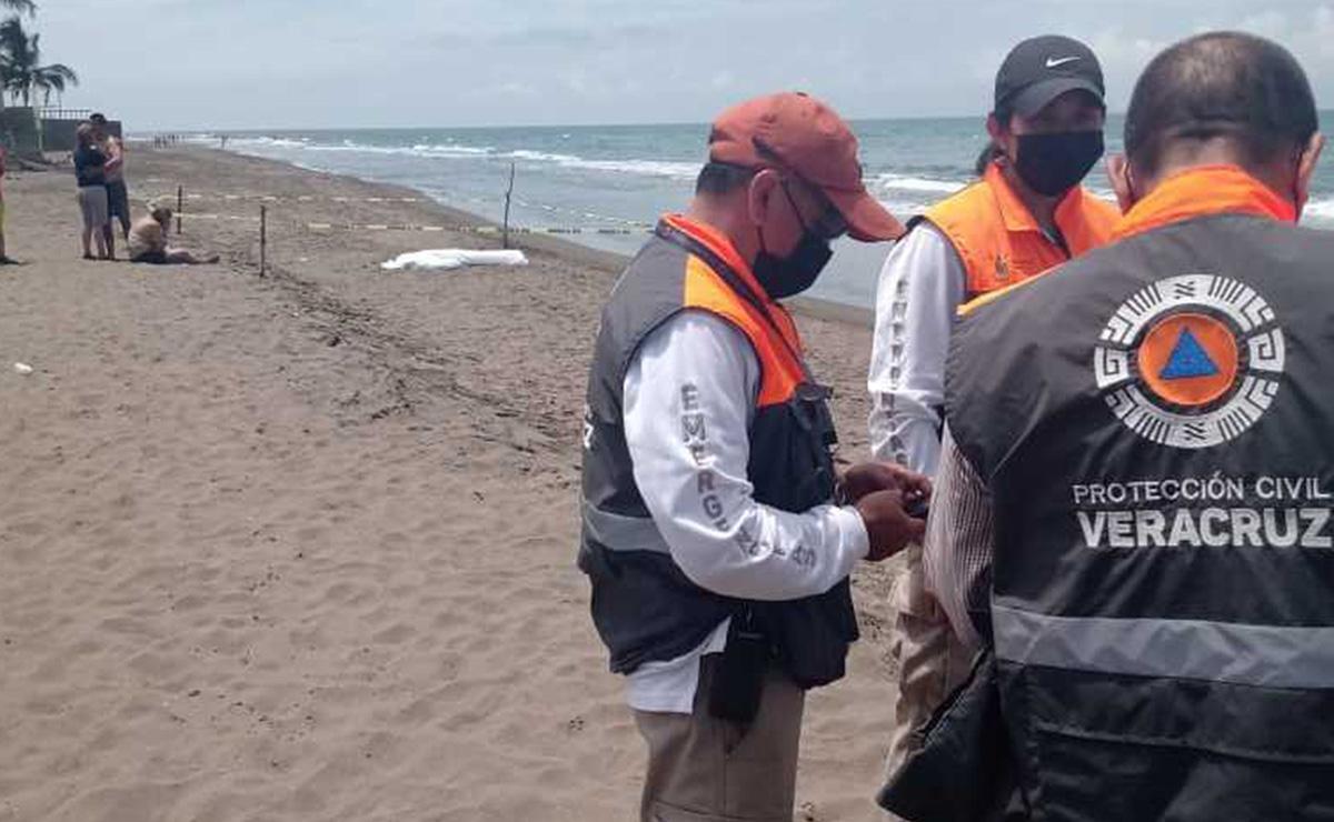 Se ahogan dos turistas adultos y un menor, al sur de Veracruz