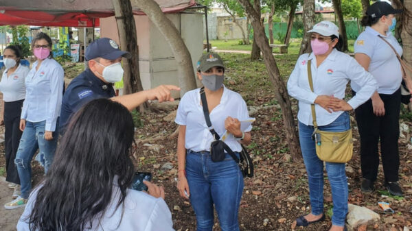 Cancún: Realizan autoridades policiacas de seguridad marcha exploratoria en la SM 259