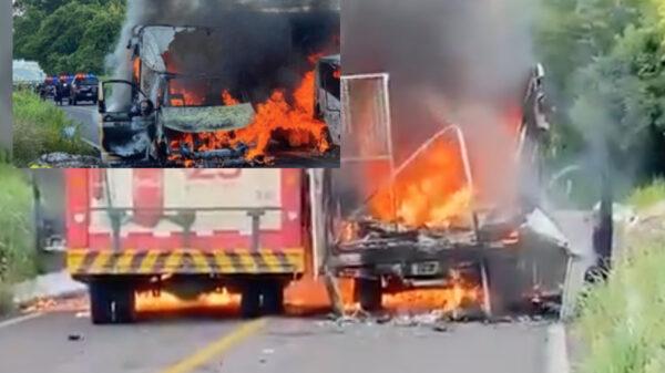 Video: Michoacán en llamas, continuan los enfrentamientos armados