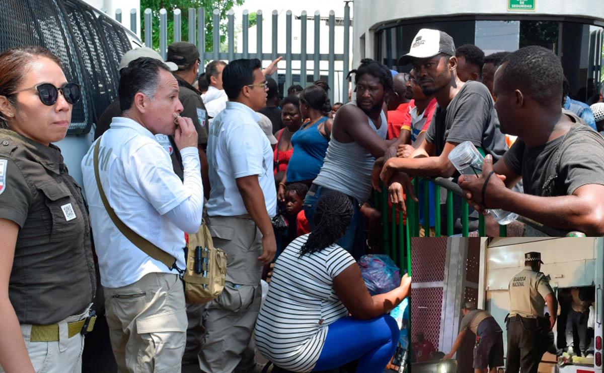 Rescatan a 130 migrantes en Chiapas; 30 son menores de edad