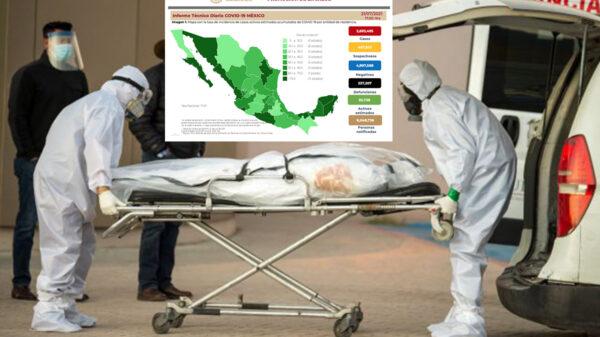 Asciende México a cuarto lugar mundial en muertes por covid-19