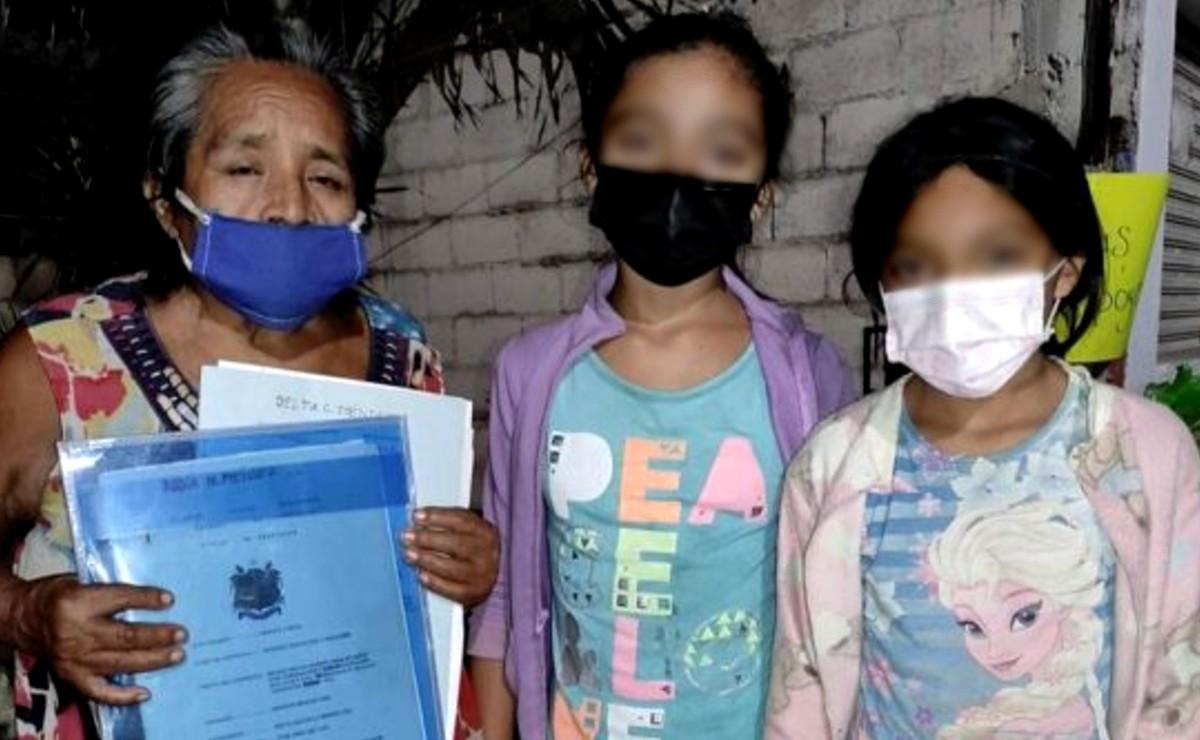 Menores recuperan documentos de su casa tras empeñarlos para pagar entierro de su madre en Tizimín