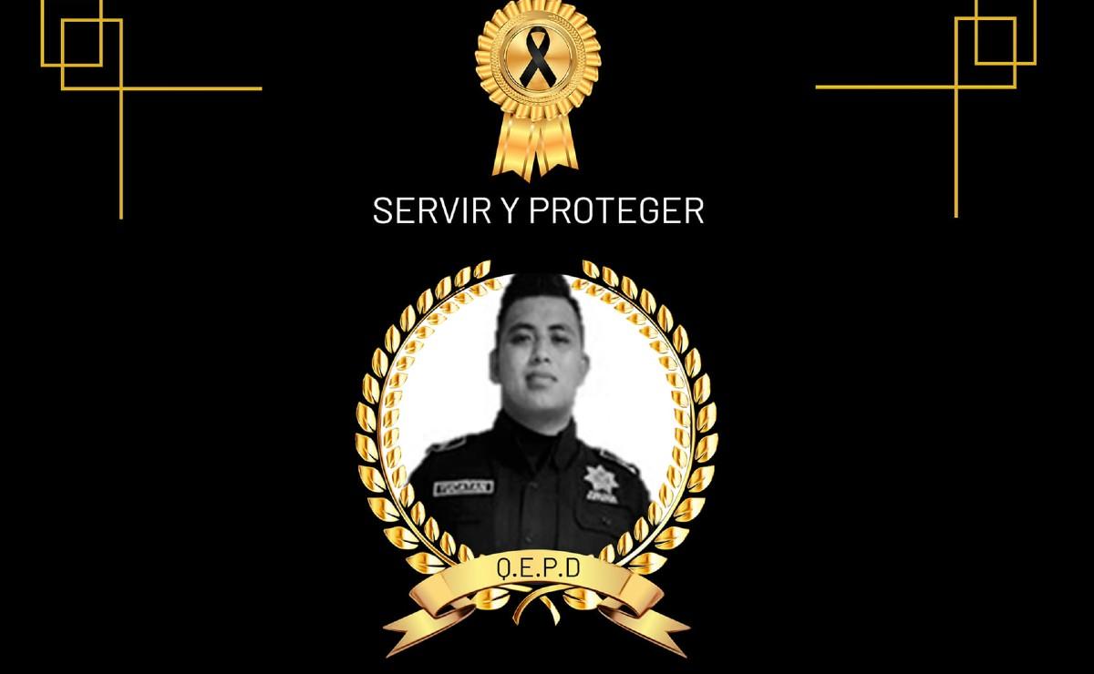 Policía asesinado en la vía Mérida-Cholul tenía 23 años; se une a la pena la SSP