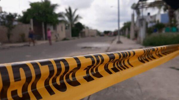 Muere policía estatal al ser atropellado por una patrulla durante operativo en Mérida