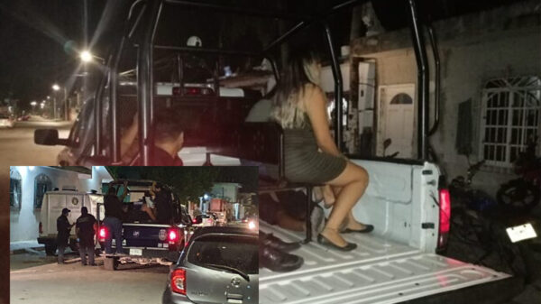 Redada en lupanar clandestino de Cozumel deja ocho detenidos