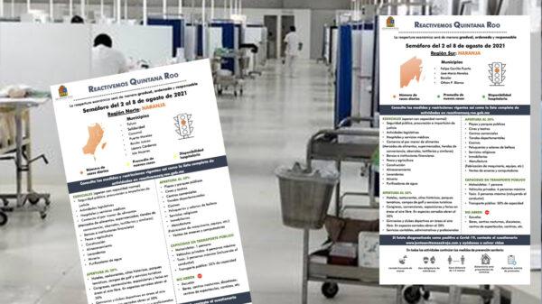 Otra semana en naranja, con una ocupación hospitalaria del 40 por ciento
