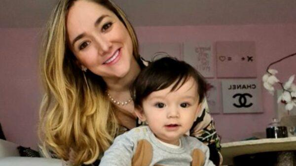 Bebé de Sherlyn González causa ternura a internautas con baile