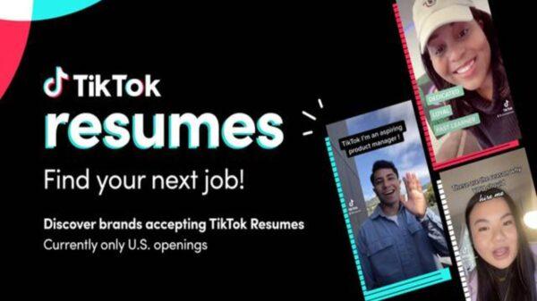 Ahora no solo podrás divertirte en TikTok, sino que incluso podrás encontrar empleo, tras lanzar la nueva función de Resumes