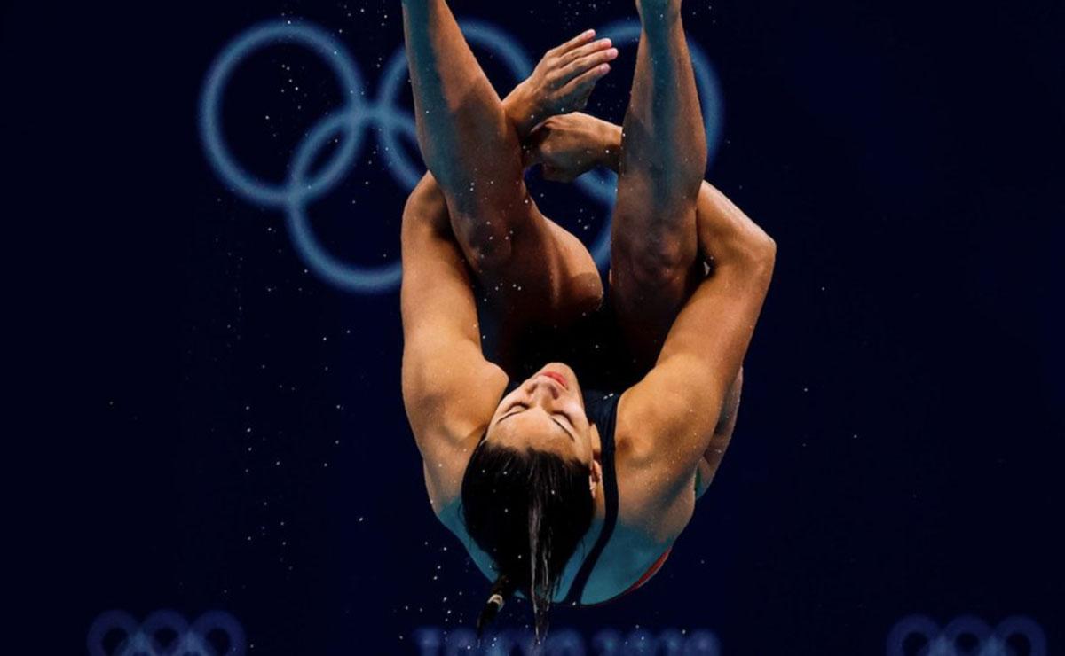 Tokio 2020 Aranza Vázquez avanza a la final en clavados de 3 metros