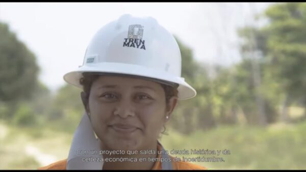 """Obras del Tren Maya concluirán a fines de 2023; conforme al programa"""
