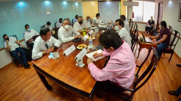 Analizan autoridades liberación del derecho de vía del Tramo 5 Sur del Tren Maya