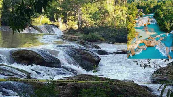 Se ahoga turista en cascadas de Chiapas; ya localizaron su cuerpo
