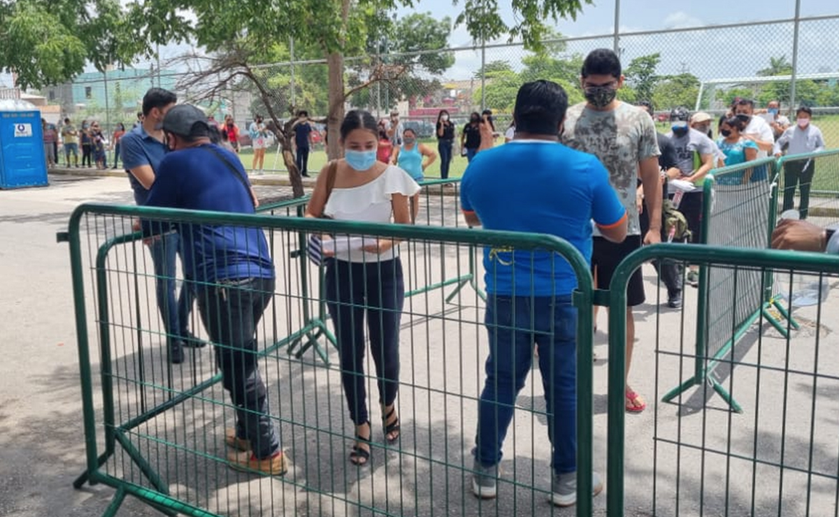 Buena respuesta de jóvenes a vacunación anticovid en Cancún