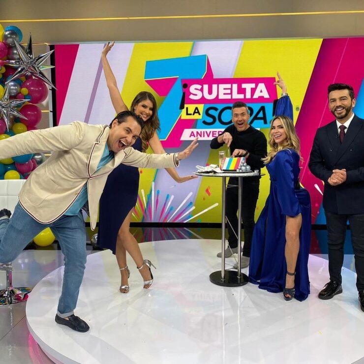 Vanessa Claudia podría abandonar el programa Suelta la Sopa