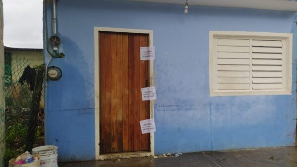 Catea la FGR un domicilio en la colonia Emiliano Zapata de Cozumel.