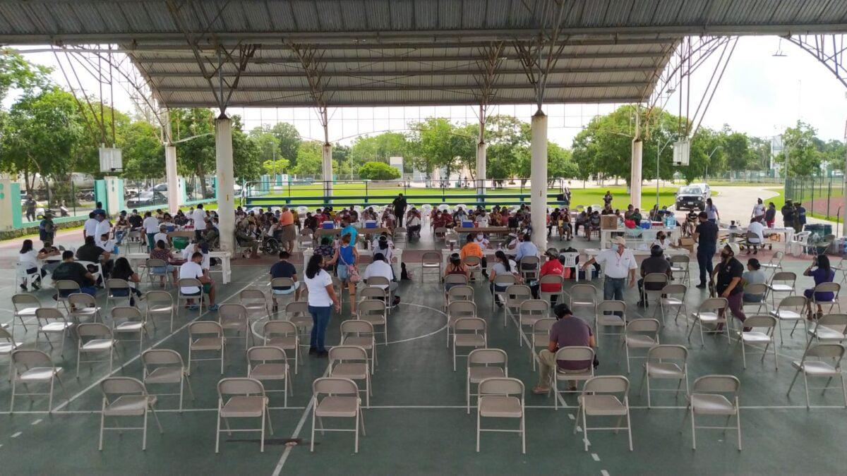 En Cozumel no responden a jornada de vacunación de 30-39 años.