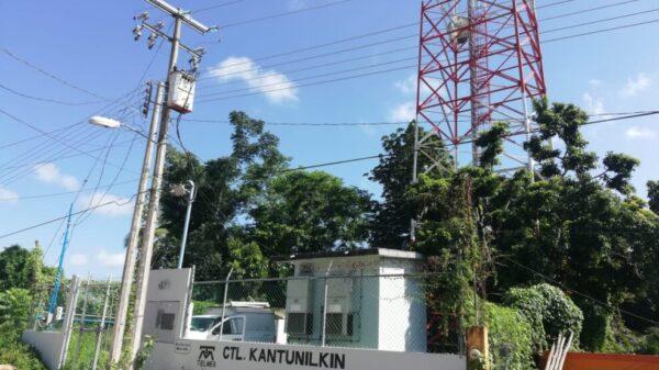 Suspenden telefonía celular e internet en Kantunilkín
