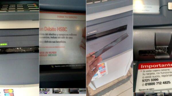 Playa del Carmen: Alertan sobre dispositivo para robar dinero en un cajero.