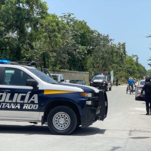 Frustrado desalojo en la colonia Carlos Joaquín de Tulum (VIDEO).
