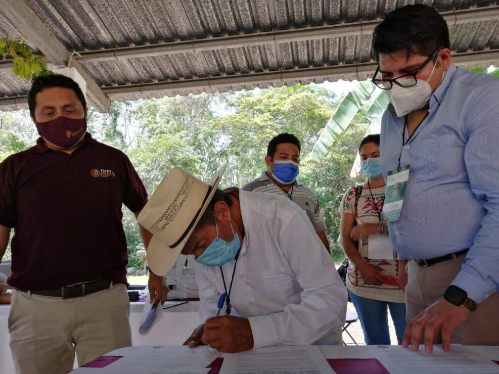 Apoyan mayas reforma constitucional sobre derechos de pueblos indígenas y afromexicano; se llevó a cabo una asamblea en Felipe C. Puerto.