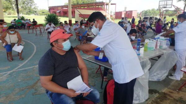 Se cumplirá la meta de vacunación anticovid en Kantunlkín.