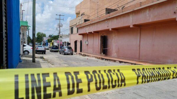 Disparan contra la fachada de un bar en la Región 94 de Cancún (VIDEO).