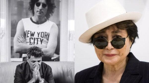 "Yoko Ono reacciona al escuchar ""Imagine"" con Alejandro Sanz en Tokio 2020"