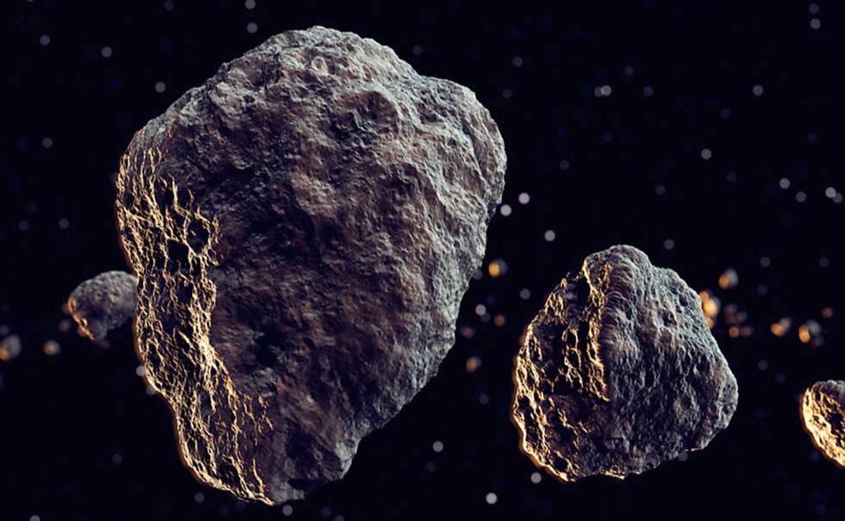 La NASA dio a conocer que al menos cinco asteroides de gran tamaño pasarán cerca de la Tierra en los próximos día