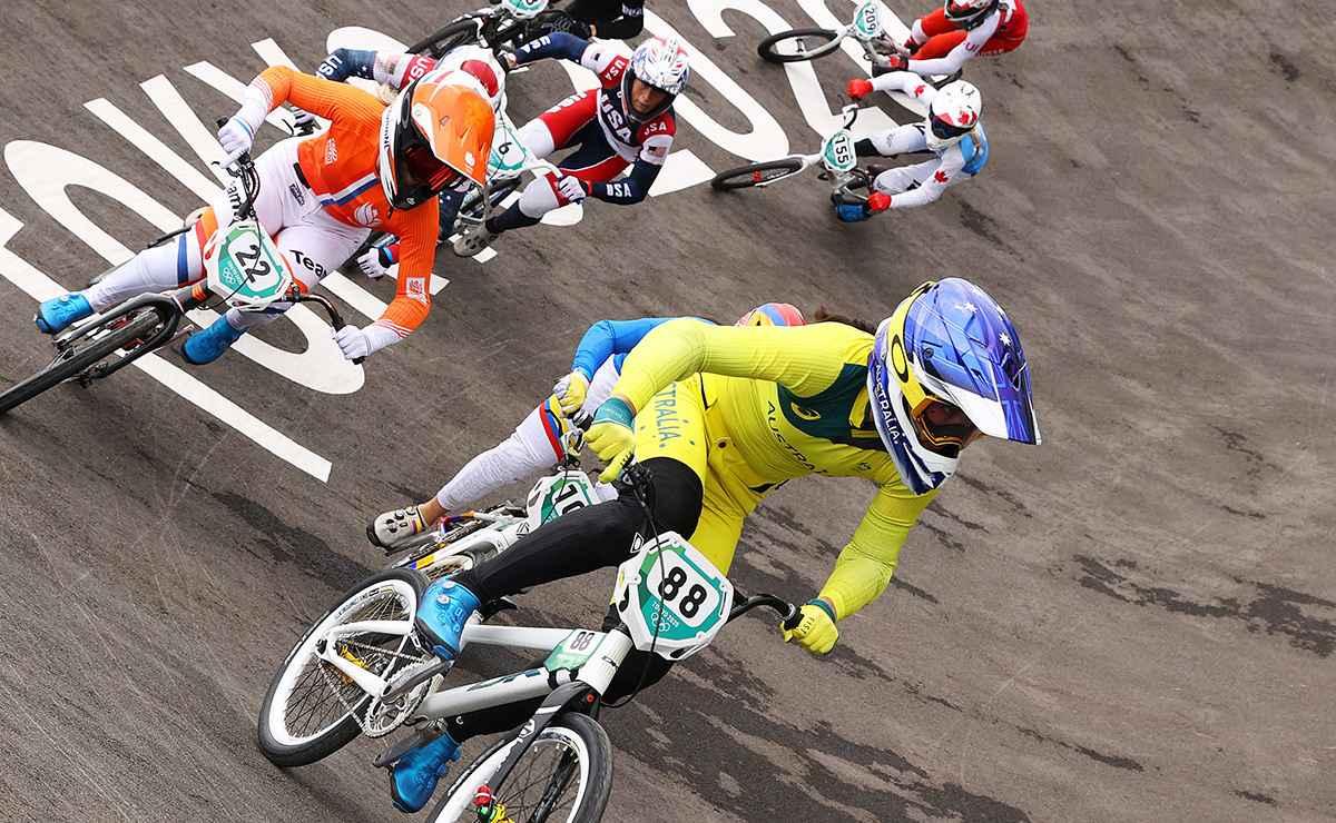Connor Fields reacciona tras sufrir terrible caída en bicicleta #Tokio2020