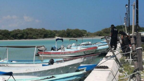 Muere ahogado joven pescador en el puerto de abrigo de Chuburná
