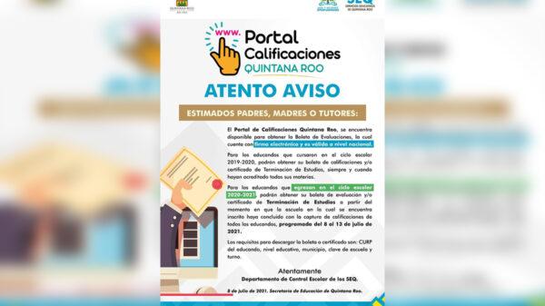 Concluye curso escolar 2020 - 2021 en Quintana Roo