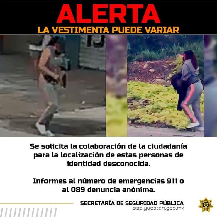 PRELIMINAR: Caen los asesinos de Policía en Mérida; en una rápida acción, dos hombres y una mujer fueron ubicados cerca de la terminal de autobuses.