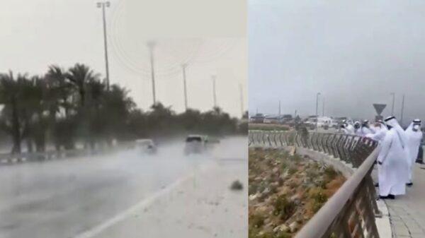 Emiratos Árabes Unidos crea lluvia artificial para combatir la intensa ola de calor