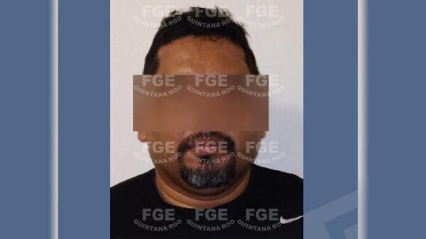 Detienen por violación a exjefe policiaco de Playa del Carmen.