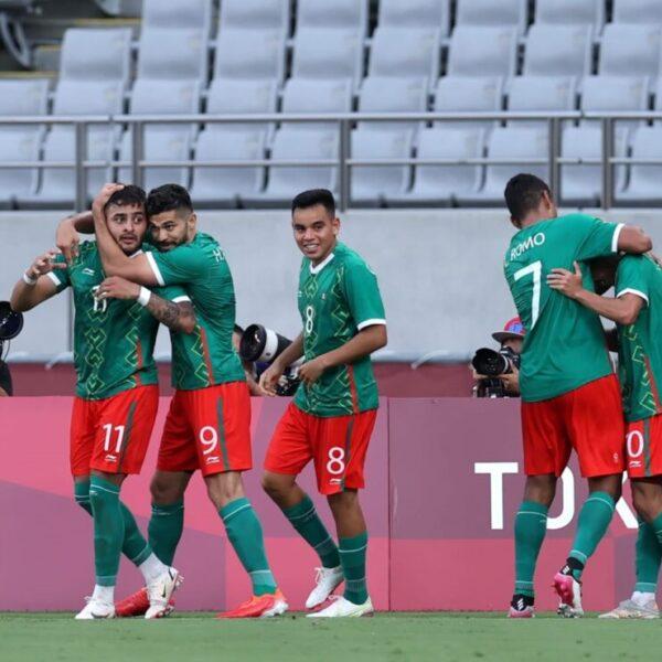 Tokyo 2020: México avanza a cuartos de final en el futbol olímpico.