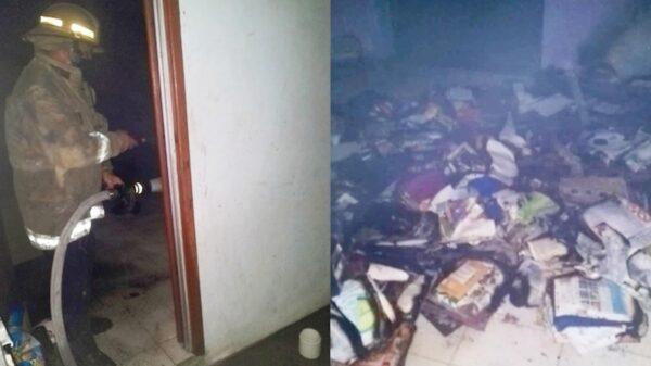 Sujeto bajo los efectos de la droga incendia la casa de su madre de 75 años en Hunucmá