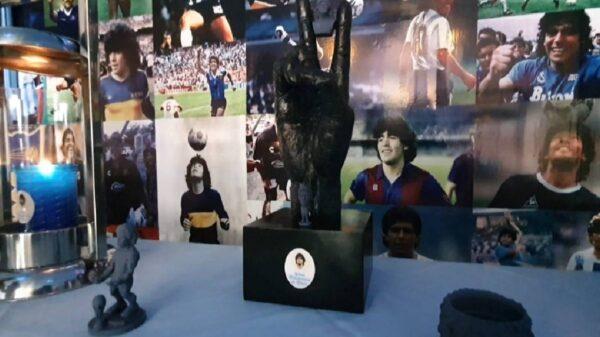 Los fanáticos de Maradona, ya tiene un nuevo sitio para rendirle culto al astro de fútbol argentino