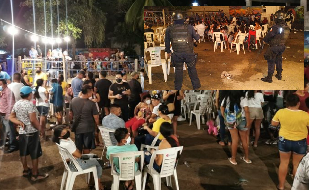 "Video: Disuelven autoridades ""mega jaripeo"" en Guerrero"