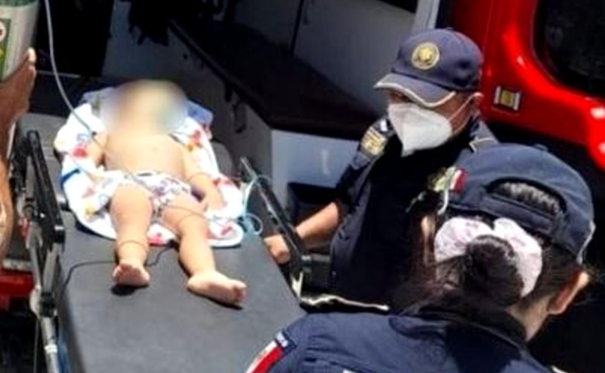 Menor de 2 años casi pierde la vida al caer a una piscina en Progreso