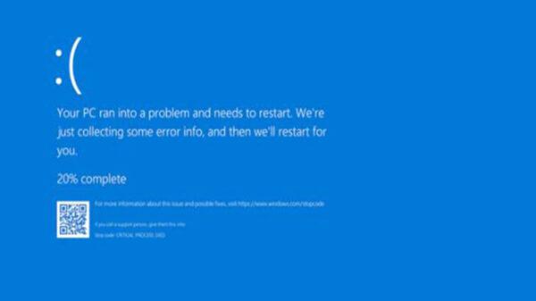 """Windows 11 dejara de usar la """"Pantalla Azul de la Muerte"""", la cual aparece para anunciar el error del sistema"""