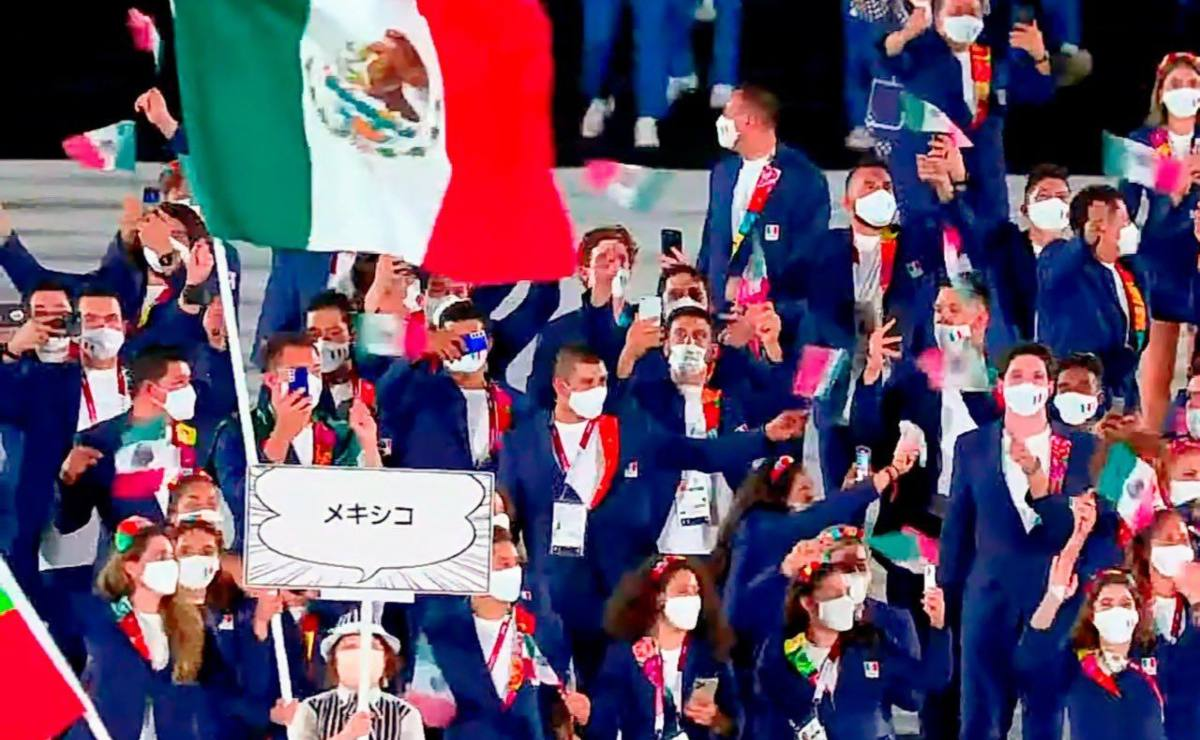 Así fue la Ceremonia de Apertura de los Juegos Olímpicos de Tokio 2020