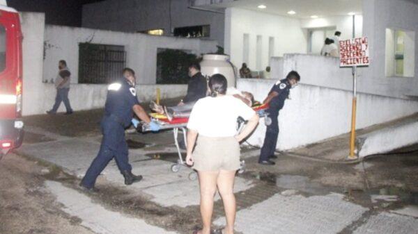 Mujer se corta las venas por problemas legales con sus familiares en comisaría de Panabá